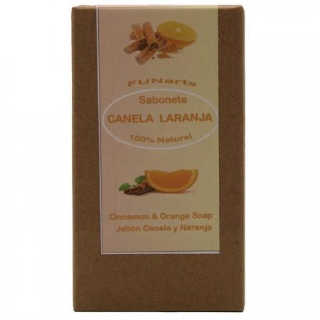 Sabonete Artesanal Canela e Laranja 100/110g