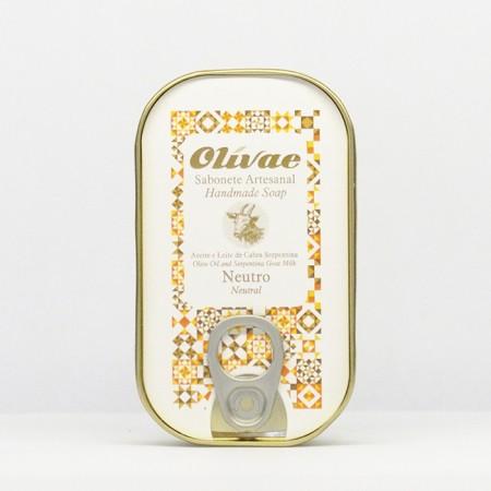 Sabonete Artesanal Neutro Caixa Conserva 85g