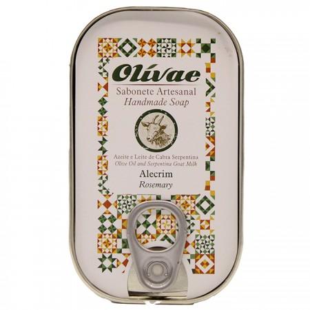 Sabonete Artesanal com Alecrim Caixa Conserva 85g