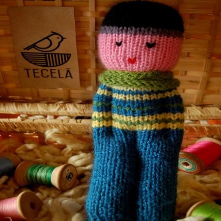 Bonecos em Tricô | Nico