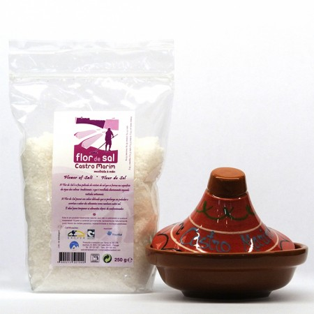 Tajine e Flor de Sal Natural Raw 250g