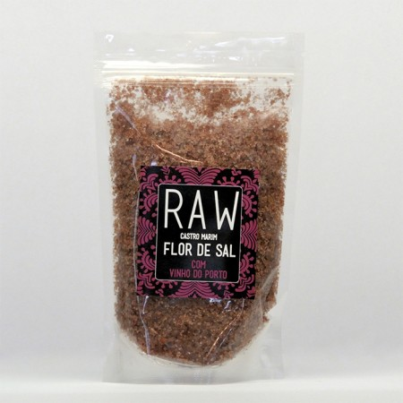 Flor de Sal com Vinho do Porto RAW 200g
