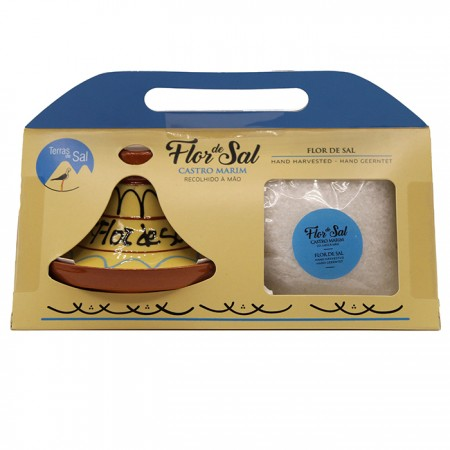 Tagine com Flor de Sal Natural 200g